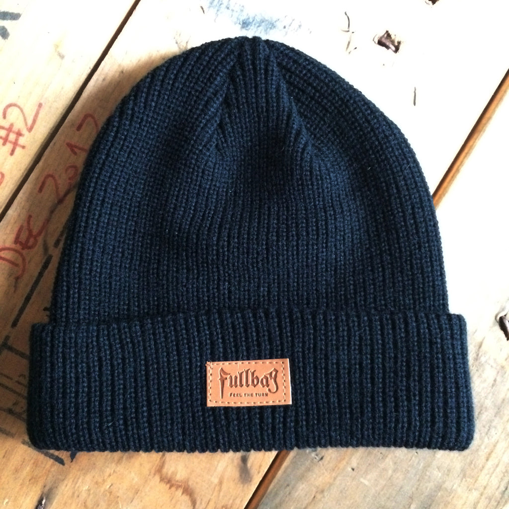 Feel The Turn Black Beanie