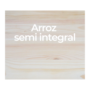 Arroz semi integral - A granel