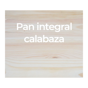Pan integral calabaza