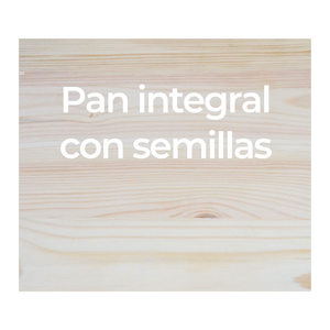 Pan integral con semillas