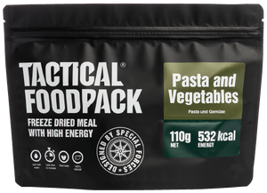 Outdoor Essen Cremige Gemüsepasta - Austrian Tactical & Survival