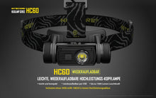 Laden Sie das Bild in den Galerie-Viewer, Nitecore HC60 - Austrian Tactical & Survival