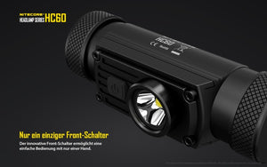 Nitecore HC60 - Austrian Tactical & Survival
