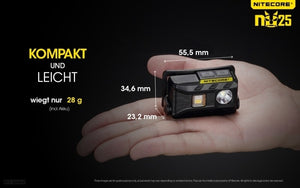 Nitecore NU25 - Austrian Tactical & Survival