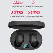Airpods Silicone Voice Control Bluetooth 5.0 Earbuds