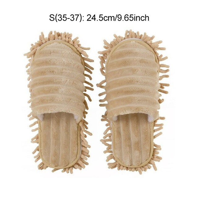 Dust mop slippers [1 pair]