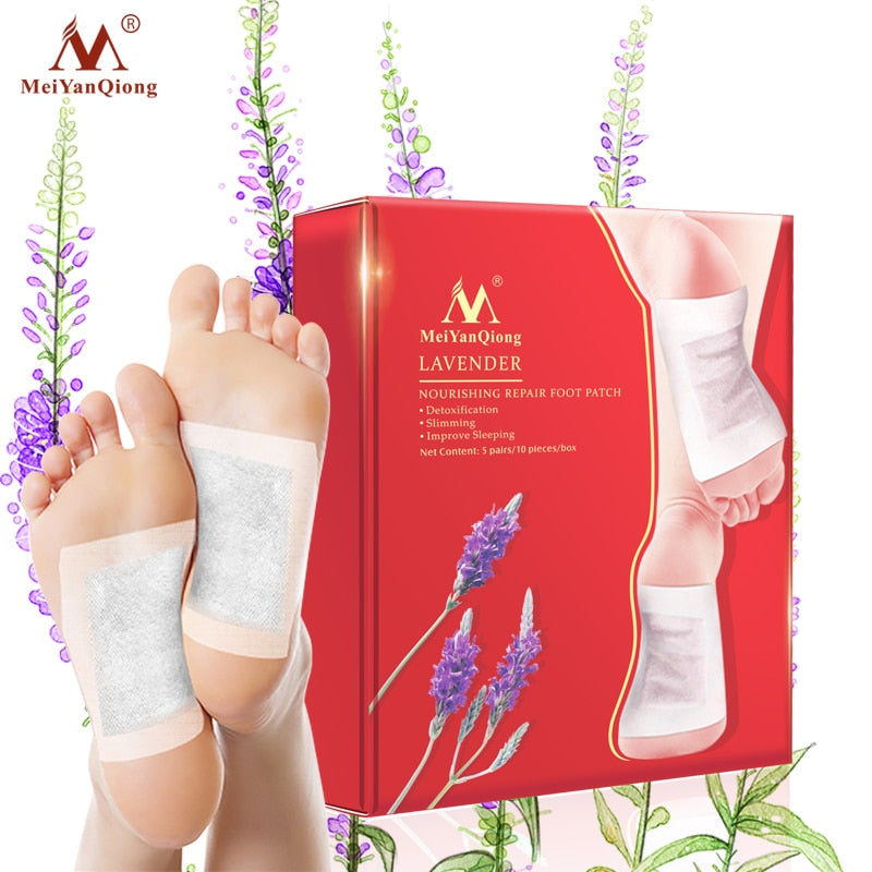 Lavender detox foot patches [10pcs]