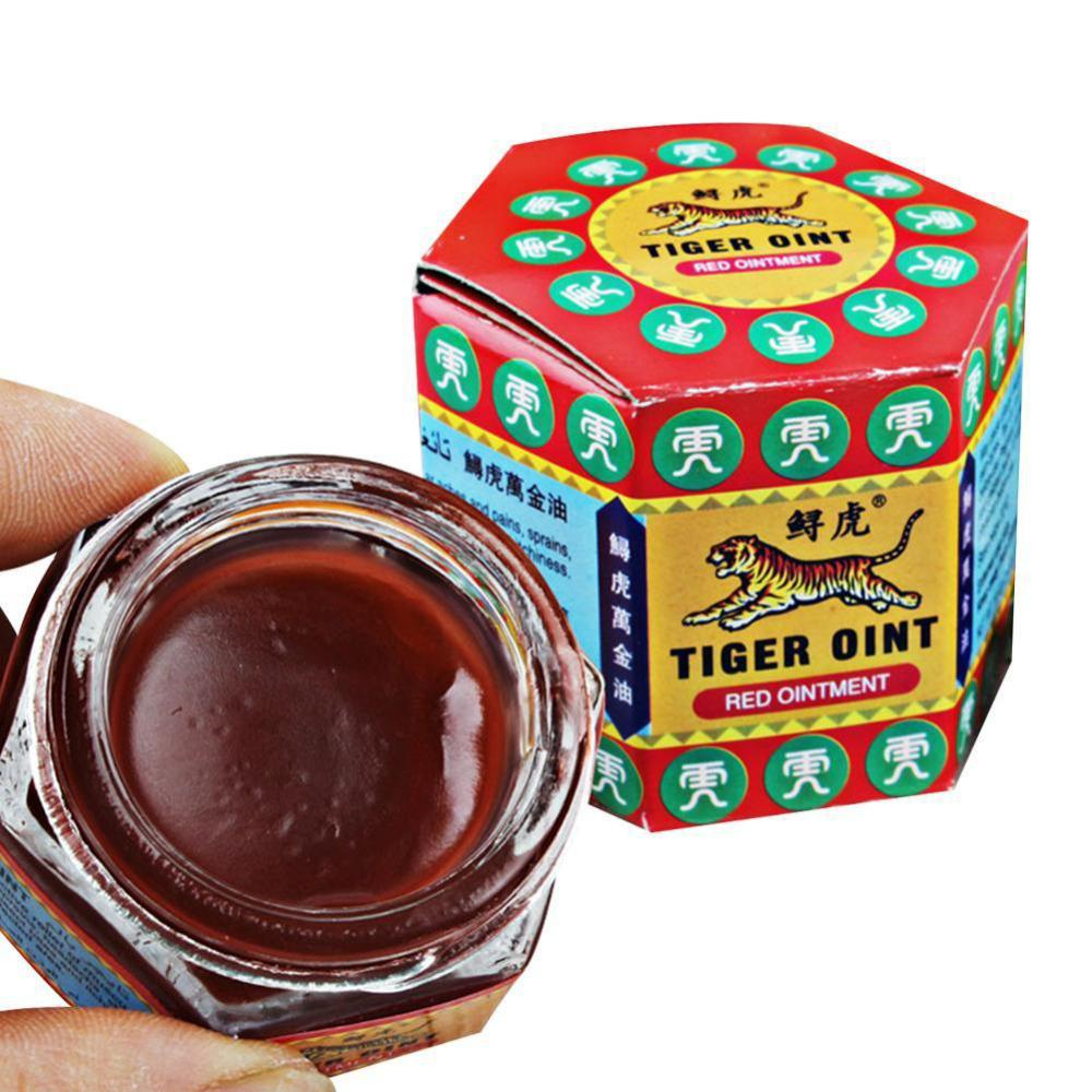 Red Tiger Ointment Balm - Peppermint Oil