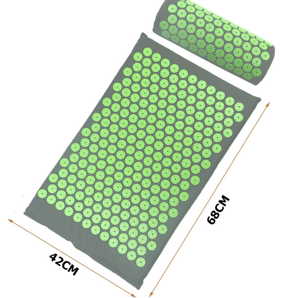 Acupressure massager mat for relaxation and stress relief [1pc]