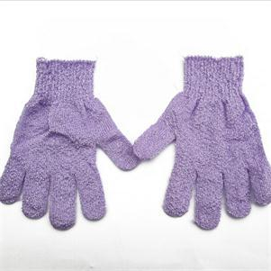 Body massage scrubber sponge gloves [1 pair]