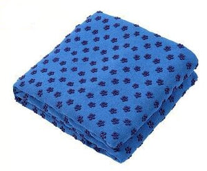 Non-slip yoga mat cover towel