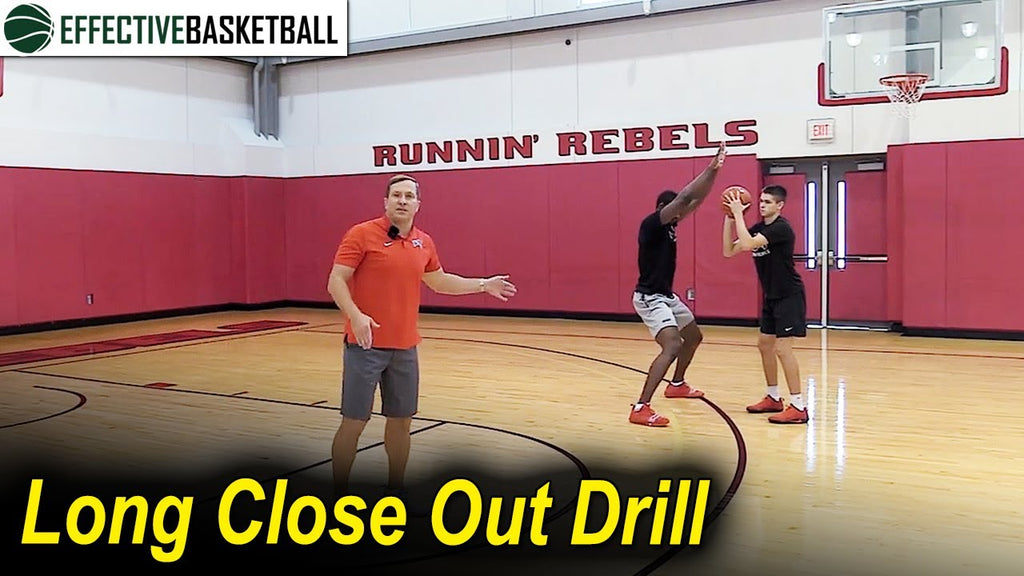 Long Close Out Drill With TJ Otzelberger