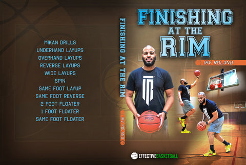 Finishing At The Rim by Irv Roland