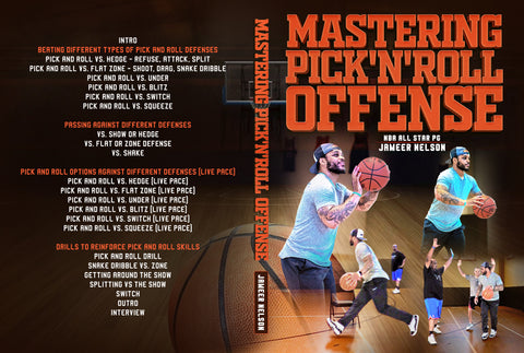 Mastering Pick'N'Roll Offense by Jameer Nelson
