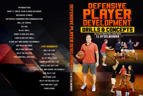Defensive Player Development Drill & Concepts by TJ Otzelberger