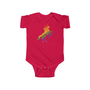 Unicorn Infant Fine Jersey Bodysuit