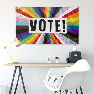 VOTE! Wall Flag