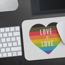 Load image into Gallery viewer, Love is Love Mouse Pad