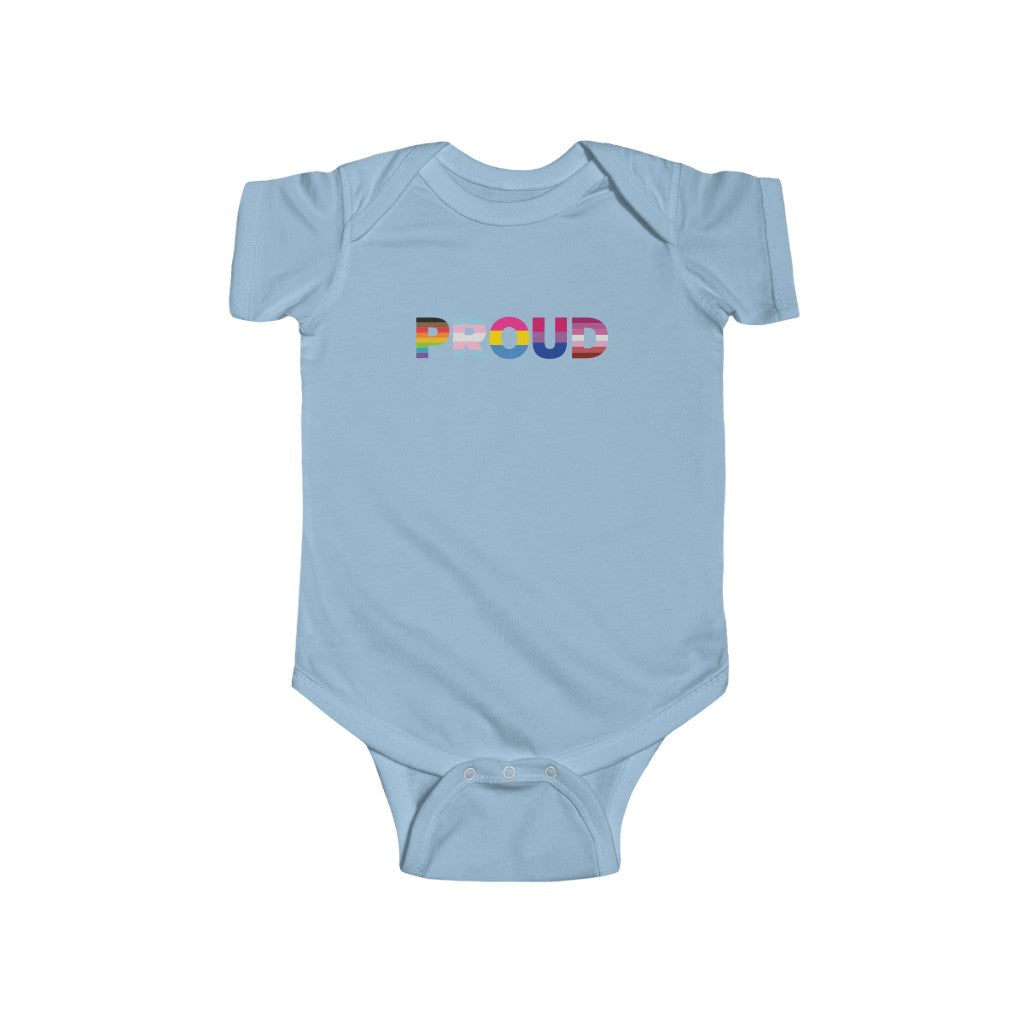 Proud Infant Fine Jersey Bodysuit