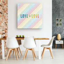 Load image into Gallery viewer, Love is Love Gallery Canvas Wrap