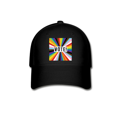 VOTE!  Baseball Cap - black