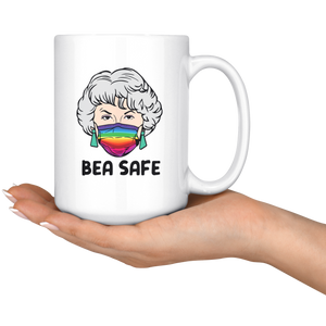 Be Safe White 15oz Mug