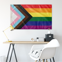 Load image into Gallery viewer, Progressive Pride Flag