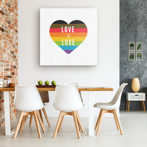 Love is Love Gallery Canvas Wrap