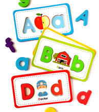 Load image into Gallery viewer, ABC Flashcards & Alphabet Magnets