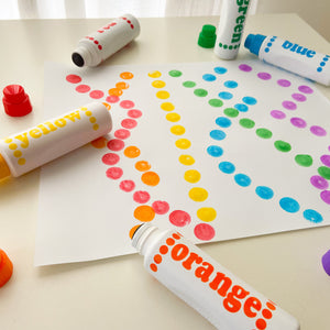 Do A Dot Art! Rainbow Markers - 6-Pack
