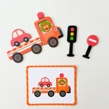 Load image into Gallery viewer, Magnetic Art Case - Vehicles