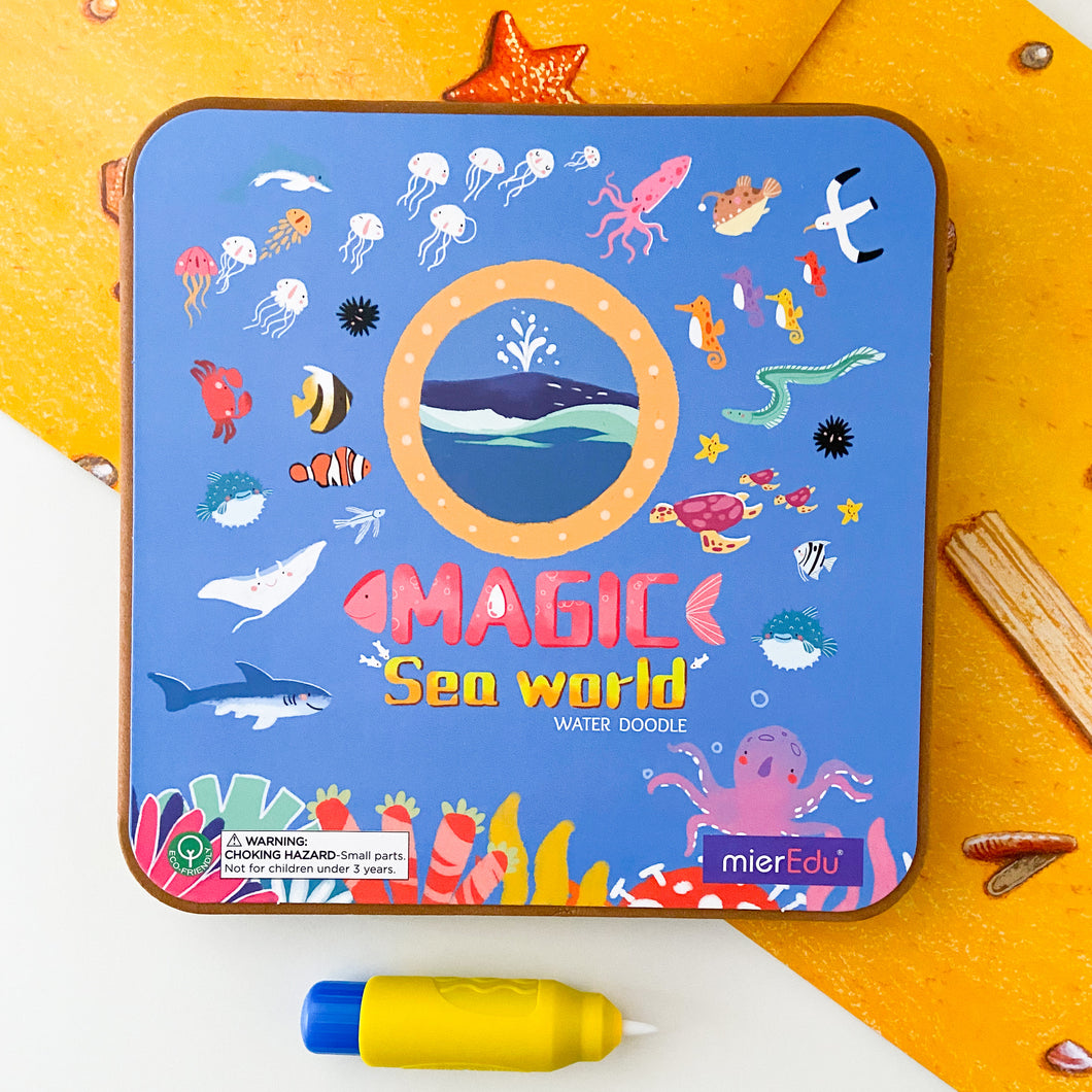 Magic Water Doodle Book - Sea World