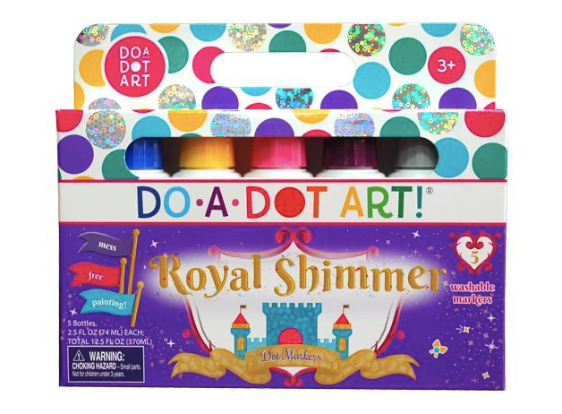 Do A Dot Art! Royal Shimmer Markers - 5-Pack