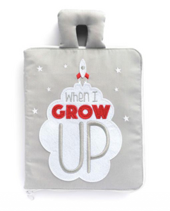 Fabric Quiet Activity Book - When I Grow Up