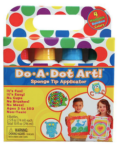 Do A Dot Art! Rainbow Markers - 4-Pack