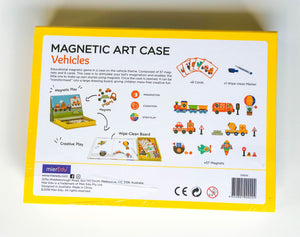 Magnetic Art Case - Vehicles