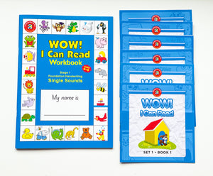 Wow! I Can Read Ultimate Reading and Writing Bundle