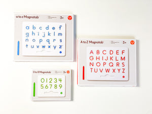 Magnatab - Alphabet and Number Bundle