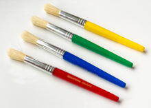 Load image into Gallery viewer, Jumbo Paint Brushes (Pack of 4)