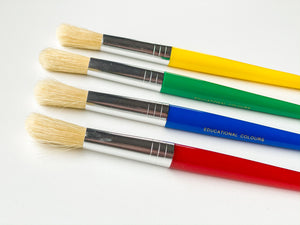 Jumbo Paint Brushes (Pack of 4)