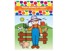 Load image into Gallery viewer, Do A Dot Art! Colouring Book - Farm Animal Friends