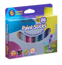 Load image into Gallery viewer, Paint Sticks - Set of 6 Metallic Colours