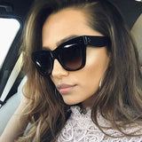 Classic Cat Eye Vintage Oversized Sunglasses - sunglasses depo