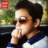 Classic Vintage Sunglasses Children Colorful Mirror Glasses Boys/Girls - sunglasses depo