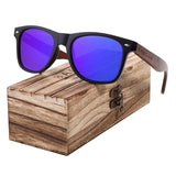 Black Walnut Polarised Mens Sunglasses - sunglasses depo