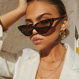 Sexy Retro Cat Eye Women Sunglasses - sunglasses depo