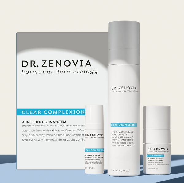 An Easy & Effective Derm-Developed Acne Clearing Skincare Routine