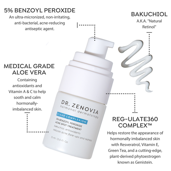 5% Benzoyl Peroxide Acne Spot Treatment