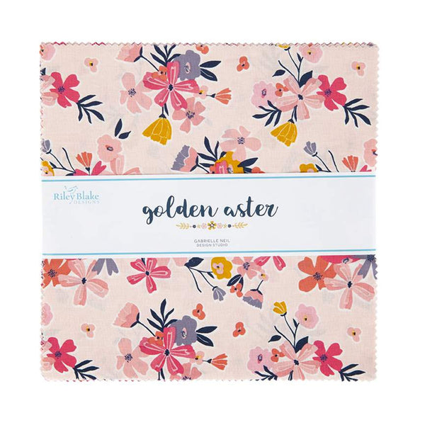 "Golden Aster 10"" Stacker"