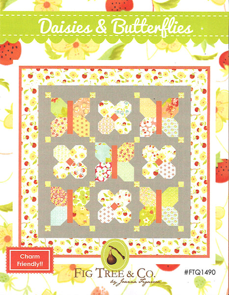 Daisies & Butterflies | Fig Tree Quilts